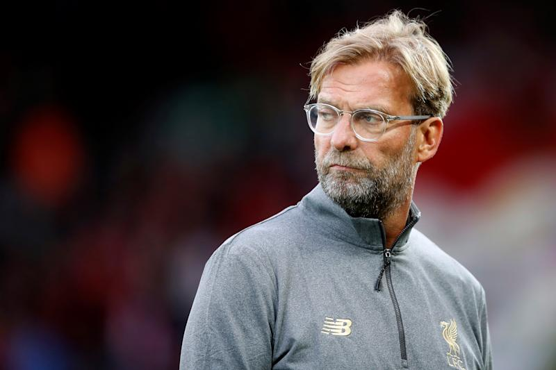 Soccer Football - Pre Season Friendly - Liverpool v Torino - Anfield, Liverpool, Britain - August 7, 2018 Liverpool manager Jurgen Klopp before the match Action Images via Reuters/Carl Recine