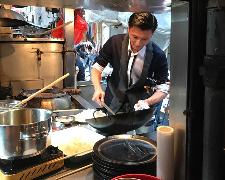 Hong Kong entertainer and chef Nicholas Tse does not care about the negative comments he received about his food. ― Picture via Facebook/Nicholas Tse