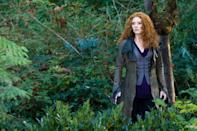 """<p>Victoria is basically what you find when you Google """"problematic fave."""" Sure, she's a murderer with a weirdly misplaced vendetta against Bella, but it's also really fun to see someone best the Cullens for once. Truthfully, I'm not sure how she managed to hide from them with such a distinctive head of hair. To get her amazing fiery curls, use the <a href=""""https://www.sephora.com/product/curl-charisma-rice-amino-avocado-leave-in-defining-creme-P388626?country_switch=us&lang=en&skuId=1784669&om_mmc=ppc-GG_1918212123_69274811983_aud-299050439238:pla-420670332463_1784669_353513010130_9004077_c&ds_rl=1261471&gclid=CjwKCAjw74b7BRA_EiwAF8yHFB3X7YTqmuFwsi0MACBSi63eEvQFDwFU2tOBq_x1pS7J2D_ugqf3ARoCzJYQAvD_BwE&gclsrc=aw.ds"""" rel=""""nofollow noopener"""" target=""""_blank"""" data-ylk=""""slk:Briogeo Curl Charisma Defining Cream"""" class=""""link rapid-noclick-resp"""">Briogeo Curl Charisma Defining Cream</a> ($20), and some <a href=""""https://www.ulta.com/jojoba-oil-hair-serum?productId=pimprod2009736&sku=2552748&cmpid=PS_Non!google!Product_Listing_Ads&cagpspn=pla&CATCI=aud-880489734931:pla-300240268222&CAAGID=84016570448&CAWELAID=330000200001836146&CATARGETID=330000200001840110&CADevice=c&gclid=CjwKCAjw74b7BRA_EiwAF8yHFCB2TmFUi1fYFpAaj0SOSux-jB1PGZkoK2TDdWKqOml934yRyfWpzBoCgMoQAvD_BwE"""" rel=""""nofollow noopener"""" target=""""_blank"""" data-ylk=""""slk:PATTERN Jojoba Oil Hair Serum"""" class=""""link rapid-noclick-resp"""">PATTERN Jojoba Oil Hair Serum</a> for extra hydration ($25).</p>"""