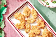 """<p>Because the holidays are a special time of year, these aren't just any appetizers. They're beautiful enough to match the gorgeous <a href=""""https://www.countryliving.com/food-drinks/g635/holiday-recipe-book-1108/"""" rel=""""nofollow noopener"""" target=""""_blank"""" data-ylk=""""slk:Christmas dinner"""" class=""""link rapid-noclick-resp"""">Christmas dinner</a> you've prepared, and tasty enough to appeal to just about any palate, with a variety of options so everyone at your <a href=""""https://www.countryliving.com/diy-crafts/how-to/g2218/christmas-party-ideas/"""" rel=""""nofollow noopener"""" target=""""_blank"""" data-ylk=""""slk:Christmas party"""" class=""""link rapid-noclick-resp"""">Christmas party</a> will love something. But don't worry: These appetizers might look impressive, and taste incredible, but they're are actually easy to make. Now you just need to decide which <a href=""""https://www.countryliving.com/food-drinks/g1036/easy-christmas-desserts/"""" rel=""""nofollow noopener"""" target=""""_blank"""" data-ylk=""""slk:Christmas desserts"""" class=""""link rapid-noclick-resp"""">Christmas desserts</a> to serve.<br></p>"""