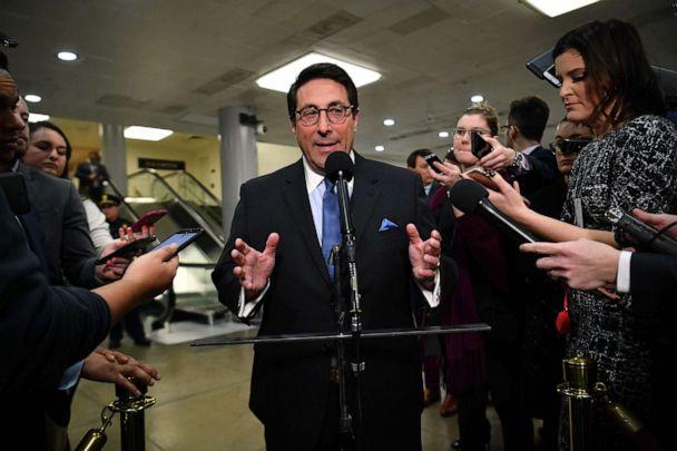 PHOTO: Attorney Jay Sekulow speaks to the press at the US Capitol in Washington, DC, Jan. 22, 2020. (Mandel Ngan/AFP via Getty Images)