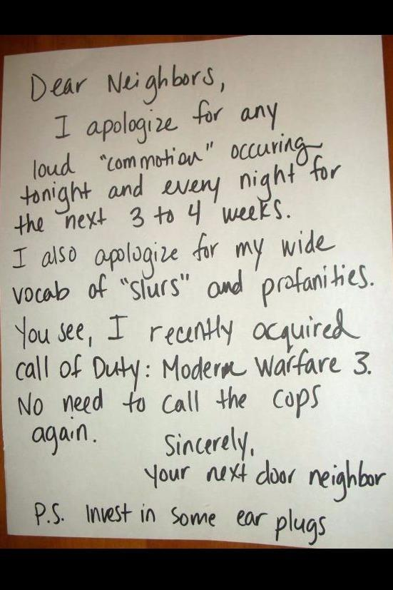 The worst neighbour fails of all time