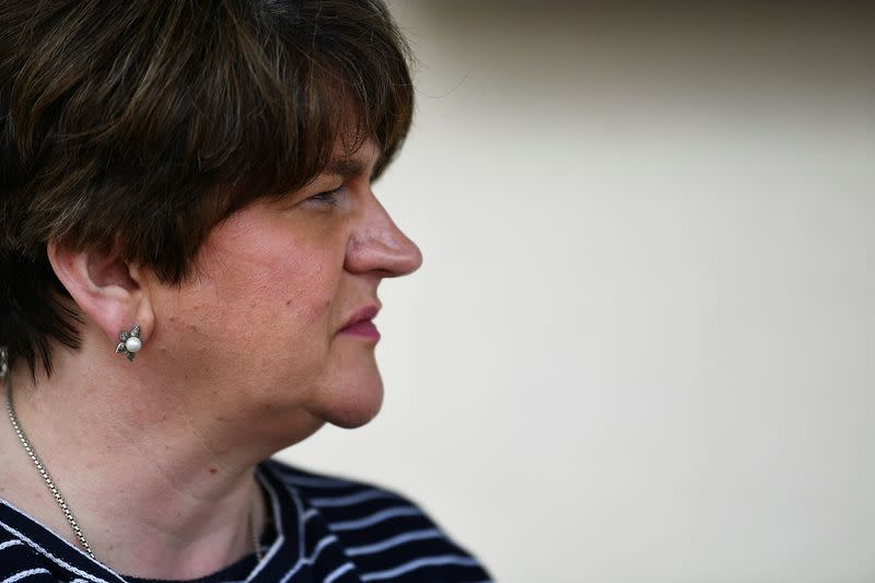 FILE PHOTO: Northern Ireland's First Minister Arlene Foster