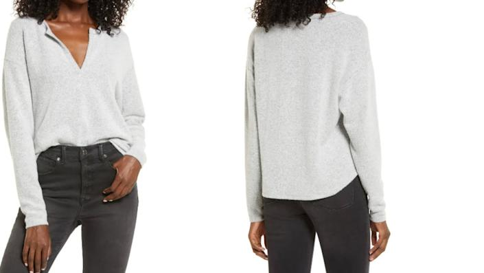 Socialite V-Neck Top - Nordstrom, $34 (originally $39)