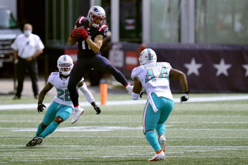 Julian Edelman isn't worried about his 58 percent snap count vs. Dolphins