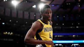 Victor Oladipo in Knicks-Pacers game