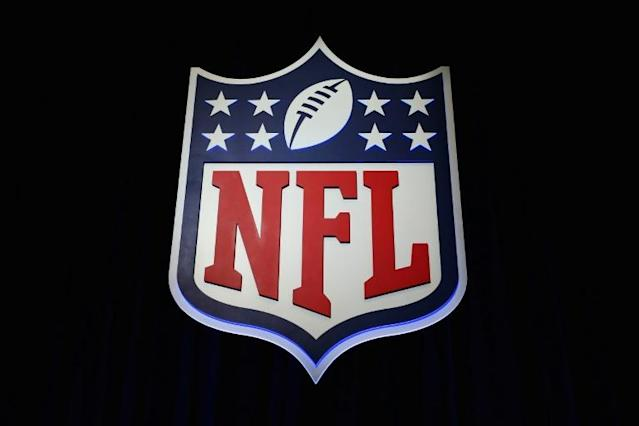 NFL commissioner Roger Goodell has advised all 32 teams that the 2020 draft of new talent will go ahead as scheduled on April 23 despite the COVID-19 pandemic that has prompted the league to shutter team facilities (AFP Photo/Tim Bradbury)