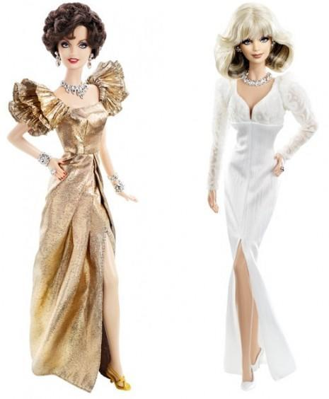 "<div class=""caption-credit""> Photo by: barbiecollector.com</div><b>Alexis and Krystle ""Dynasty"" dolls, released in 2010 for $34.95 each</b> <br> In honor of the TV show's 30th anniversary the two iconic and boldly dressed women (whoa shoulder pads) got the Barbie treatment."