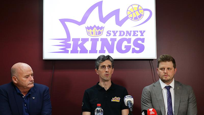 The Sydney Kings, pictured here with their Opera House logo.