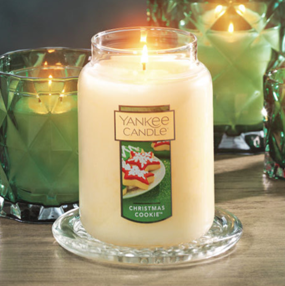 """""""Christmas Cookie"""" is one of Yankee Candle's bestselling holiday candles."""