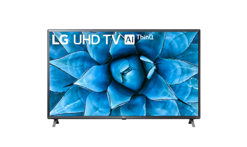 "LG 49"" 4K UHD HDR LED webOS Smart TV. Image via Best Buy."