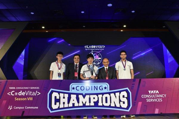 Coders from Asia Pacific Make a Clean Sweep at TCS CodeVita