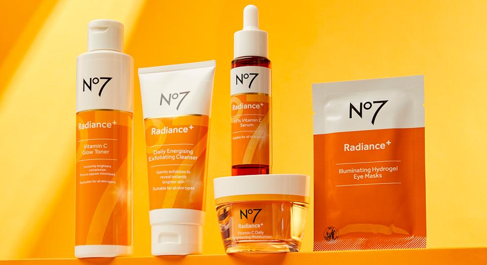 Want to upgrade your skincare routine in 2021? No7 has launched a new vitamin C collection. (No7)
