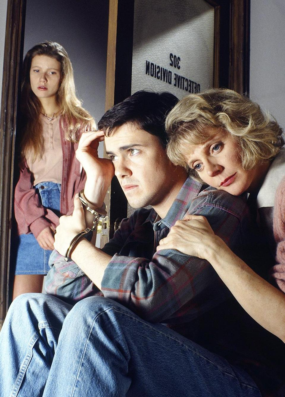 <p><b>Aired:</b> May 17, 1992 on NBC<br><b>Stars:</b> Blythe Danner, Gwyneth Paltrow, Ed Asner, Neal McDonough, John C. McGinley, David Arquette, and Adam Baldwin<br><br><b>Ripped from the headlines about:</b> Chris Pritchard, a <i>Dungeons & Dragons</i> obsessed 20-year-old who was convicted of conspiring with friends in the murder of his stepfather — and attempted murder of his mother — to get a $2 million inheritance. Mother and daughter Danner and Paltrow play Pritchard's mother and sister in another movie based on a Joe McGinniss book. The real Pritchard was given a life sentence in 1990, and paroled in 2007. The movie received an Emmy nomination as Outstanding Miniseries.<br><br><i>(Credit: Getty Images)</i> </p>