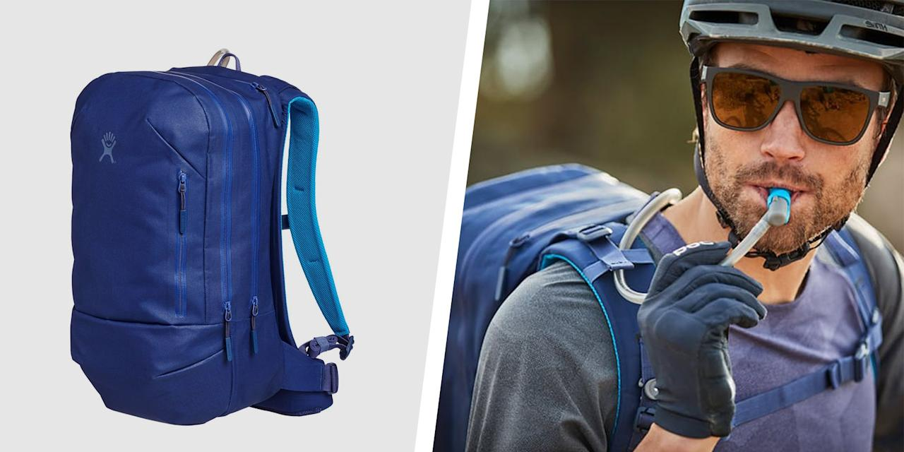 <p>If you've ever fumbled around trying to grab your water bottle on a long bike ride, or dealt with the annoyance of carrying a bottle in your hands on a long run, know there's a much easier way to stay hydrated.</p><p>For outdoor adventures, consider a hydration pack your most essential accessory. By essentially embedding your water supply into a backpack or vest, and drinking via an easy-to-access tube, you leave your hands free and your concentration solely on the activity at hand. </p><p>Backpack versions of hydration packs are perfect for hikes, bike rides, and snowboarding or skiing. They allow room to pack other gear like snacks, phone, keys, even a fresh t-shirt or socks. </p><p>Vests, on the other hand, can simplify the conundrum of long runs, when you need to rehydrate but want to keep your hands free and can't deal with a backpack bouncing around. They have less storage than a backpack, but always enough room for at least stowing a smartphone.</p><p>Fill up the water flask with ice water pre-workout or adventure and look for a model that promises to keep your beverage chilled if you're battling hot temperatures. </p><p>Hydration packs are so convenient that you might consider sporting one for a summer music festival or a pick-up basketball game outside with the boys. It's all about concentrating more on your favorite activities and less on where to stash all your stuff.</p><p>Check out the 10 best hydration packs for biking, running, skiing, or even outdoor concert-going, from the heavy-duty to the lightweight budget options.</p>