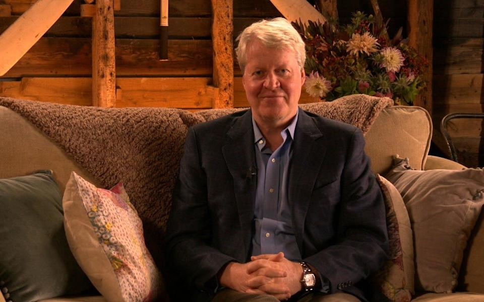 Earl Spencer has said he felt duty bound 'to stand up for' his late sister, because she had asked him to protect her sons - 'Love your Weekend' with Alan Titchmarsh, Sunday November 22, 10am on ITV. Earl Spencer shares his thoughts on The Crown and its portrayal of his late sister, Princess Diana