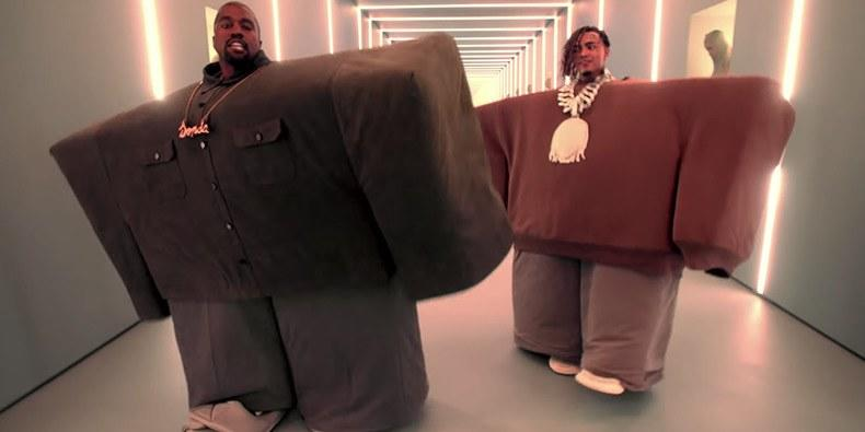 """Spike Jonze Shares Sketches for Kanye and Lil Pump's Wild """"I Love It"""" Video"""