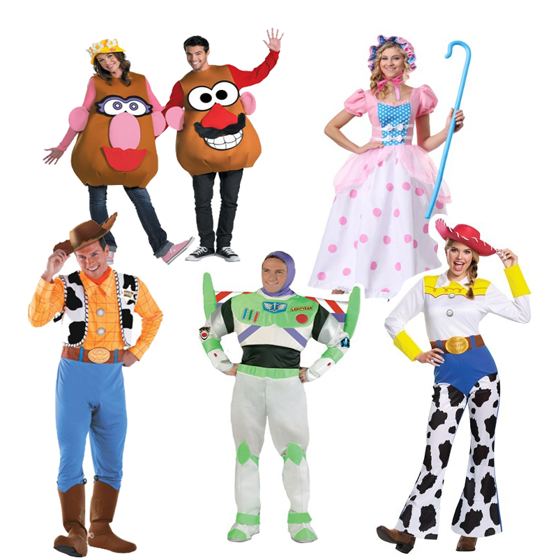 """<p>$35+</p><p><a class=""""body-btn-link"""" href=""""https://go.redirectingat.com?id=74968X1596630&url=https%3A%2F%2Fwww.halloweencostumes.com%2Ftoy-story-costume.html%3Fa%3D155&sref=http%3A%2F%2Fwww.womansday.com%2Flife%2Fg3083%2Fbest-group-halloween-costumes%2F"""" target=""""_blank"""">SHOP NOW</a></p><p>You can never go wrong with this classic cartoon. Channel your childhood with Buzz, Woody, and the rest of the gang. </p>"""