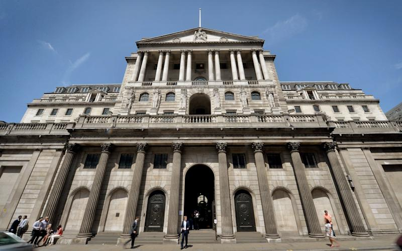 The Bank of England - PA/PA