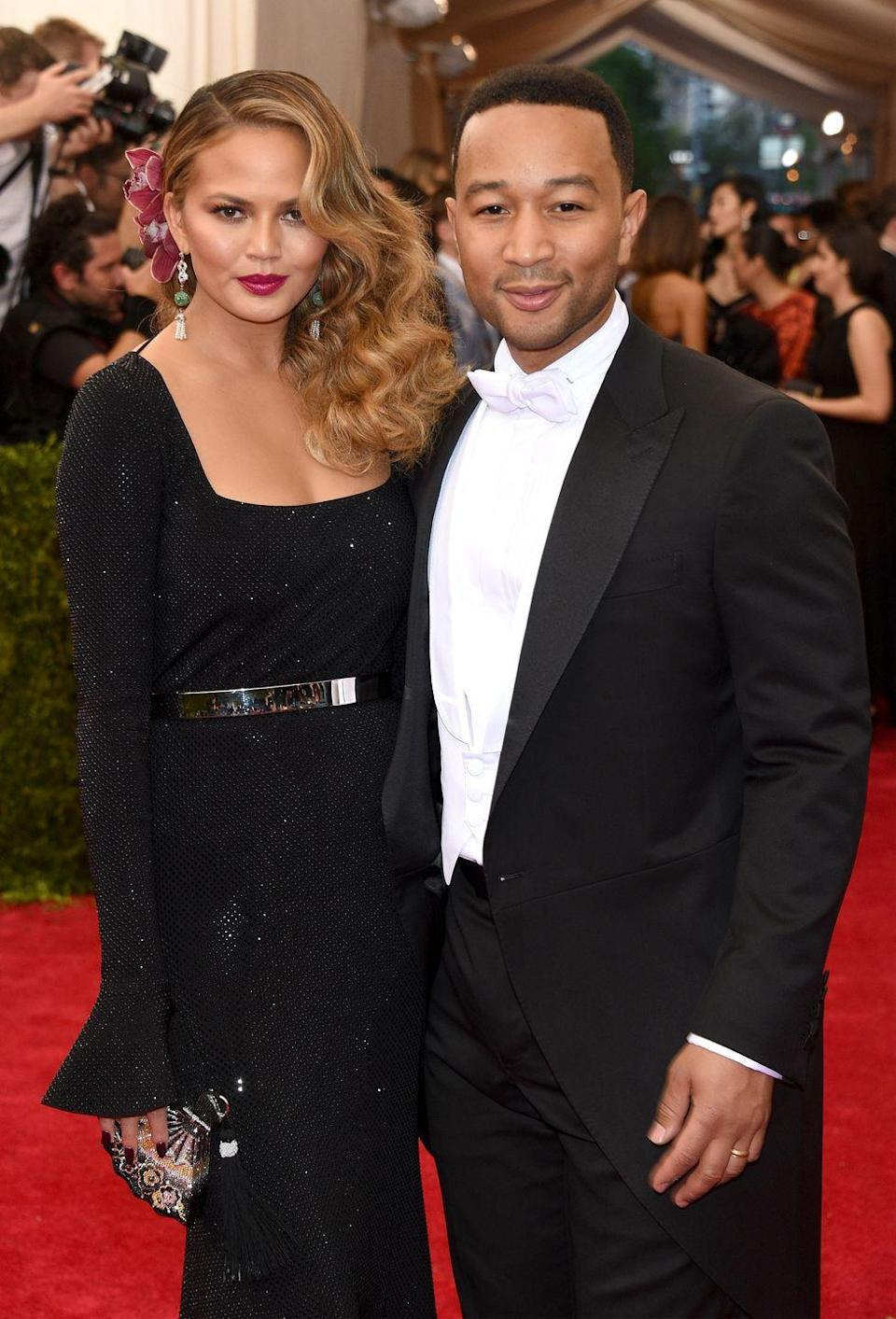 <p>At the Met Gala, dressed for the theme, 'China: Through the Looking Glass'.</p>