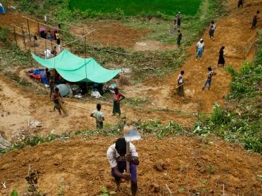 Myanmar denies reports of mass Rohingya graves in Rakhine state, says 'terrorists' buried in the area