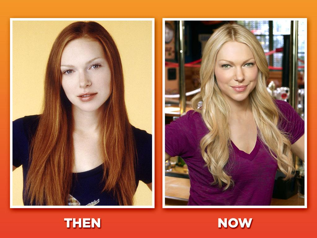 "<span style=""font-family:Arial;"">Laura Prepon (Donna Pinciotti) <br><br>Prepon played the ultimate tomboy next door as Eric's neighbor and girlfriend, Donna. After eight ""'70s"" seasons, she jumped right back into series TV with ABC's short-lived dramedy ""<a href=""http://tv.yahoo.com/october-road/show/39646"">October Road</a>."" A number of guest roles followed (""<a href=""http://tv.yahoo.com/how-i-met-your-mother/show/38167"">How I Met Your Mother</a>,"" ""<a href=""http://tv.yahoo.com/castle/show/43541"">Castle</a>""), but earlier this year, Prepon finally returned to her sitcom roots (and dyed her roots, apparently) to play a young Chelsea Handler on NBC's ""Are You There, Chelsea?"" (Will ""Chelsea"" still be there next season, though? That's the real question.) </span>"