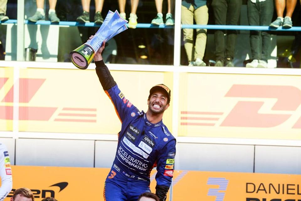Daniel Ricciardo ended a nine-year drought for McLaren with victory at the Italian Grand Prix  (Getty Images)