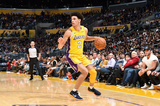 Lonzo Ball sigue siendo una de las sensaciones de la NBA. Foto: Getty Images.