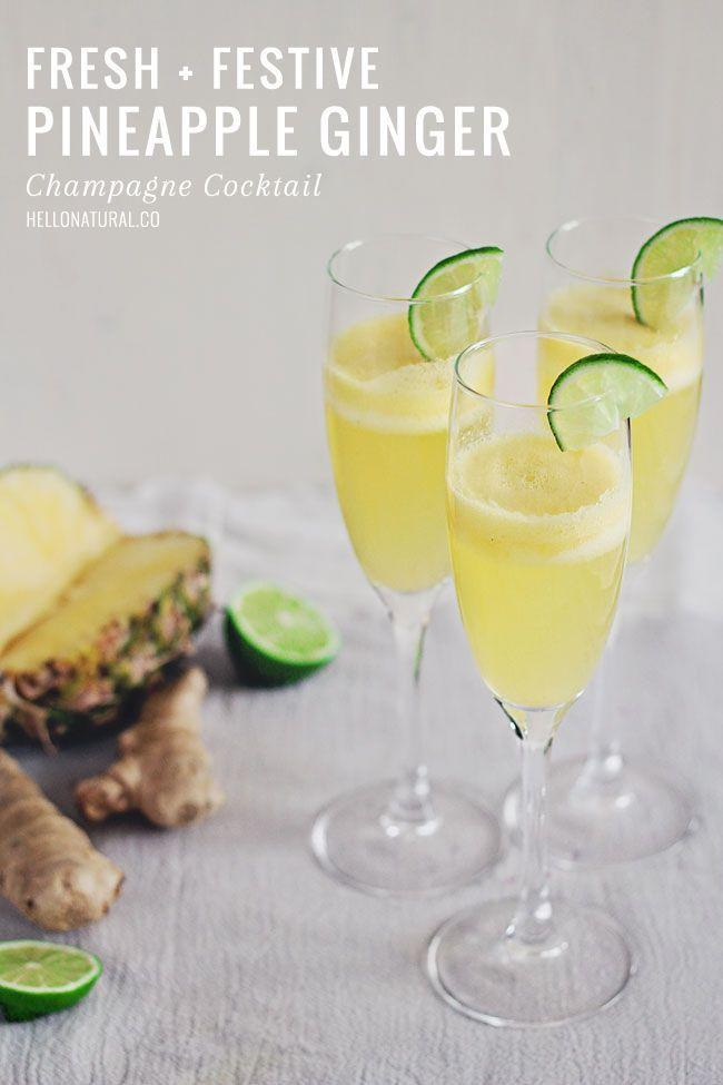 """<p>The fresh and zingy flavors are complimented with the champagne's frizz.</p><p>Get the recipe from <a href=""""http://hellonatural.co/pineapple-ginger-champagne-cocktail/"""" rel=""""nofollow noopener"""" target=""""_blank"""" data-ylk=""""slk:Hello Natural."""" class=""""link rapid-noclick-resp"""">Hello Natural.</a></p>"""