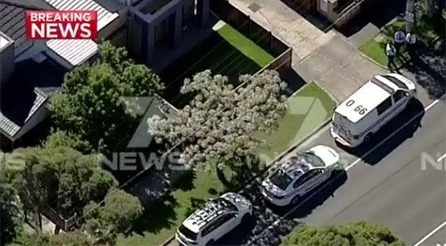 The boy was rushed to hospital wheere he remains in a serious condition. Picture: 7 News