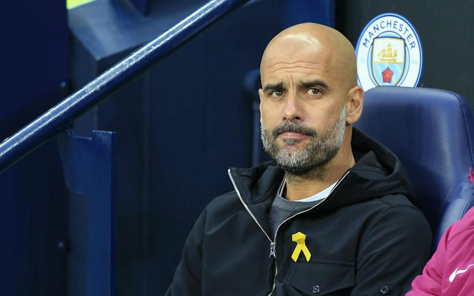 A lot of rich Premier League clubs are competing to win two grand prizes, and Pep Guardiola's Man City was just denied one of them. (Getty)