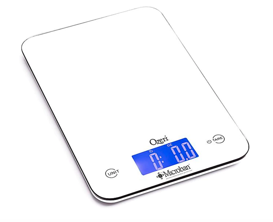 "<h2>A Kitchen Scale</h2> <br>Yeh wants <em>everyone</em> to stop using measuring cups, urging us all to switch to a kitchen scale instead. ""Just do it! Learn to weigh stuff, cut down on dirty dishes, get more consistent results, it's a win win win win!"" she says. ""Rip off the band-aid, it will only take a few days to adjust and you'll wonder why it took you so long.""<br><br><br><br><strong>Ozeri</strong> Touch II Digital Kitchen Scale with Microban Antimicrob, $, available at <a href=""https://go.skimresources.com/?id=30283X879131&url=https%3A%2F%2Fwww.bedbathandbeyond.com%2Fstore%2Fproduct%2Fozeri-reg-touch-ii-digital-kitchen-scale-with-microban-antimicrobial-protection%2F5220302"" rel=""nofollow noopener"" target=""_blank"" data-ylk=""slk:Bed Bath & Beyond"" class=""link rapid-noclick-resp"">Bed Bath & Beyond</a><br><br><br>"