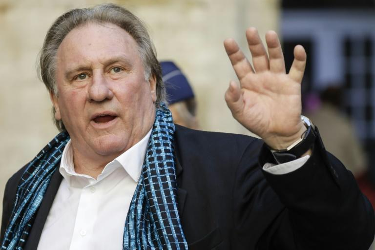 Last orders: Gerard Depardieu is selling up one of his restaurants in the French capital