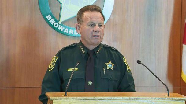 PHOTO: Broward County Sheriff Scott Israel addresses a press conference on Feb. 22, 2018. (WPLG)