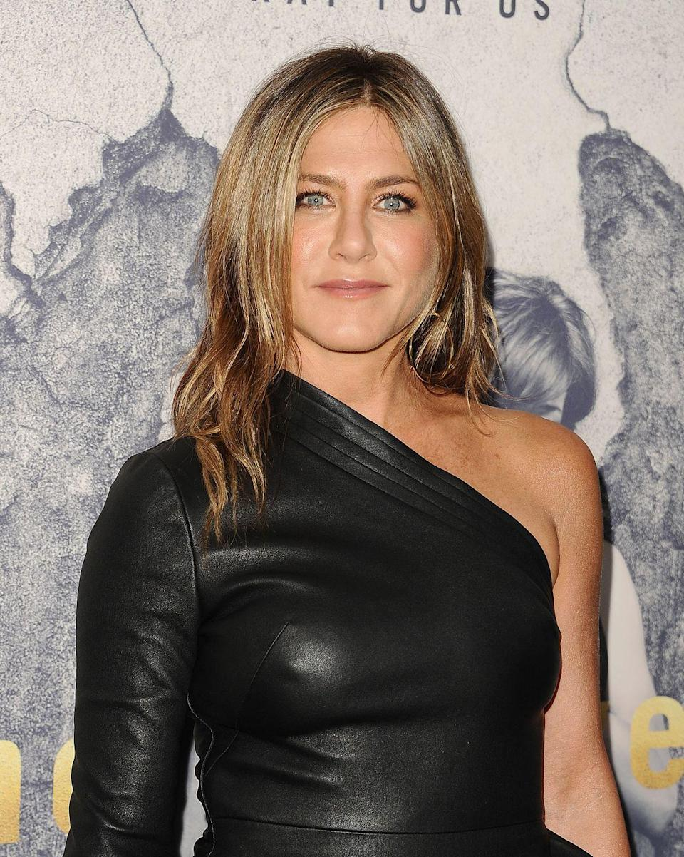 """<p>Jennifer is big into a fruit-filled smoothie made with """"bananas, cherries, blackberries, a greens powder, a collagen peptide, a little cacao powder, chocolate stevia drops, and chocolate almond milk,"""" she told <a href=""""https://people.com/food/jennifer-aniston-food-diary-worlds-most-beautiful/"""" rel=""""nofollow noopener"""" target=""""_blank"""" data-ylk=""""slk:People"""" class=""""link rapid-noclick-resp"""">People</a>, """"you can see I like chocolate-flavoured.""""</p><p>She's even just announced a global partnership with Vital Proteins, the brand she has been using since 2016.</p>"""