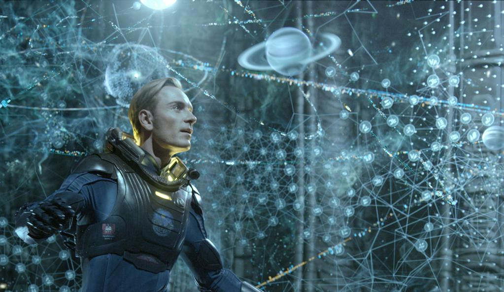 """""""Prometheus"""" Richard Stammers, Trevor Wood, Charley Henley and Martin Hill"""