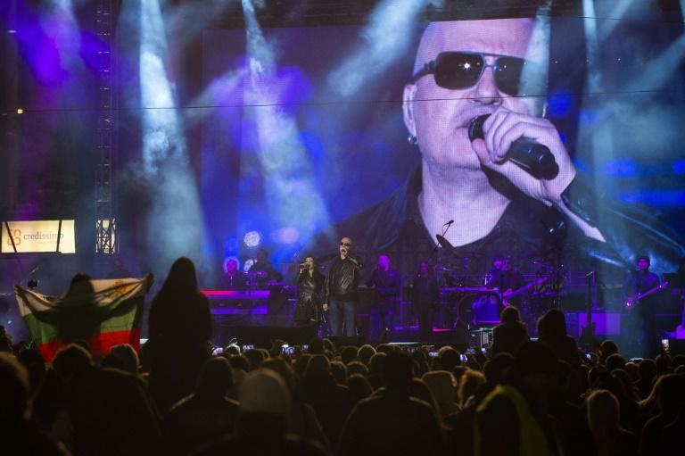 The new party of singer and talk show host Slavi Trifonov came in a surprise second with 18 percent