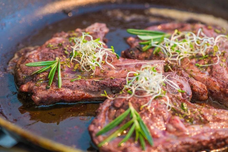 """This slow cooker recipe cooks for <em>twelve</em> hours and perfumes your house with the aromas of southern France the entire time. <a href=""""https://www.epicurious.com/recipes/food/views/braised-lamb-shanks-with-garlic-and-rosemary-100843?mbid=synd_yahoo_rss"""" rel=""""nofollow noopener"""" target=""""_blank"""" data-ylk=""""slk:See recipe."""" class=""""link rapid-noclick-resp"""">See recipe.</a>"""