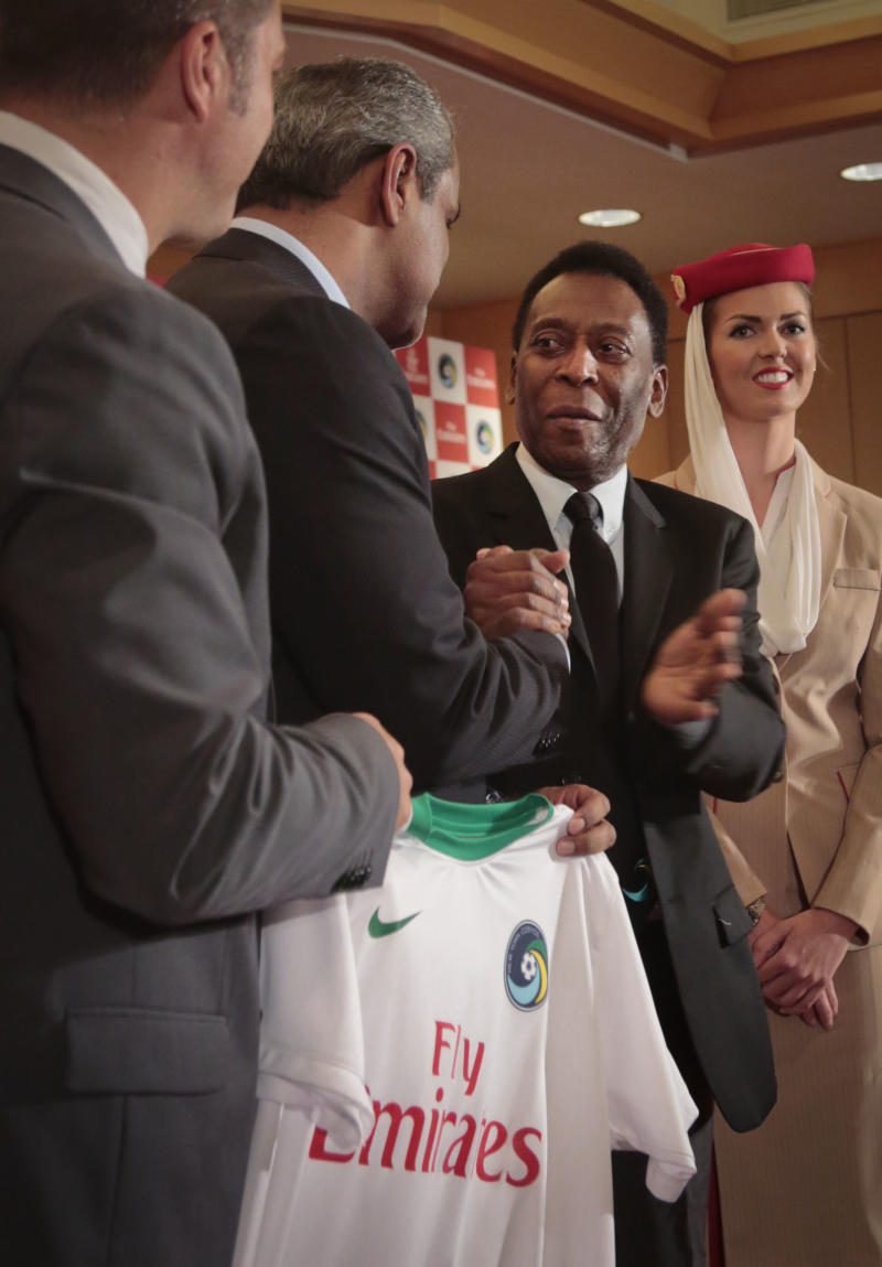 Cosmos sign jersey sponsorship with Emirates