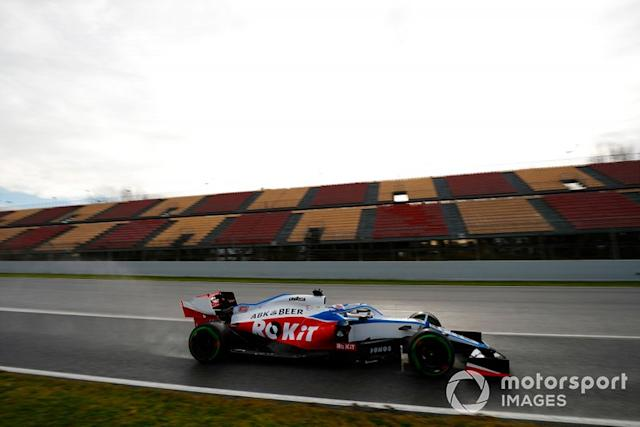 "Nicholas Latifi, Williams FW43 <span class=""copyright"">Glenn Dunbar / Motorsport Images</span>"
