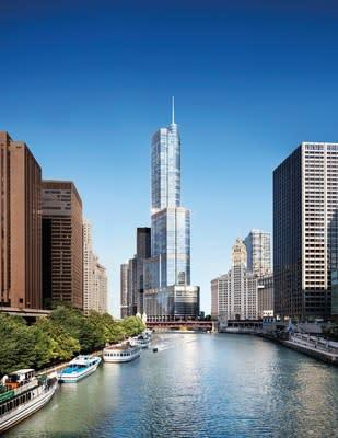 A showcase of bold style and engaging design situated along the Chicago River, Trump International Hotel & Tower® Chicago, is located in the heart of the city.