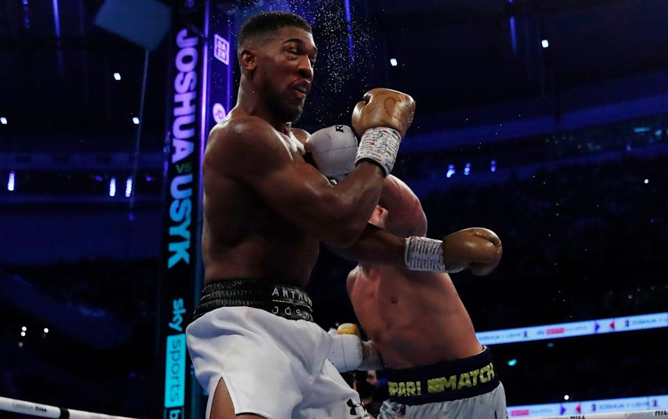 It proved to be a chastening night for Joshua against Usyk - ACTION IMAGES