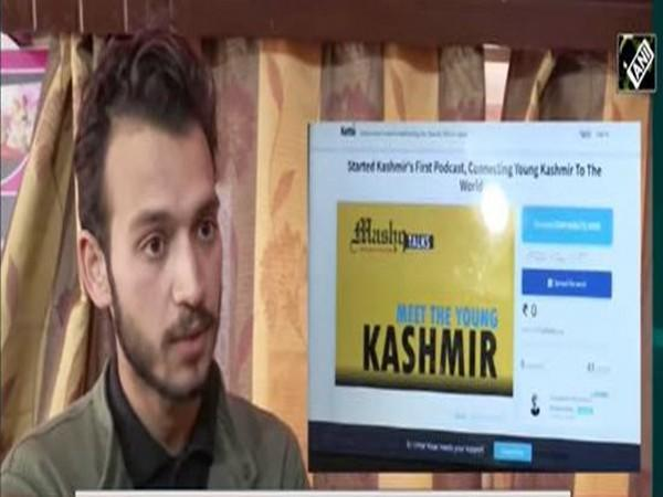 Founder of Mashq Talks Umar Nisar talks to ANI. (Photo/ANI)