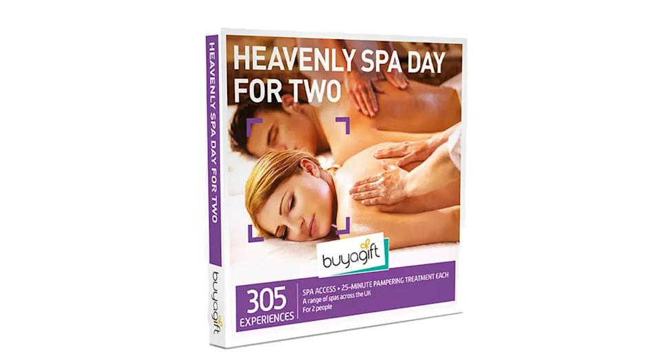 Buyagift Heavenly Spa Day for Two Gift Experience