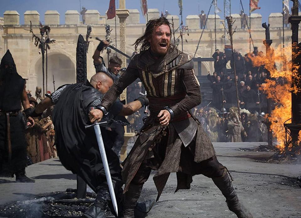 Michael Fassbender in 2016's 'Assassin's Creed' film (New Regency Productions)