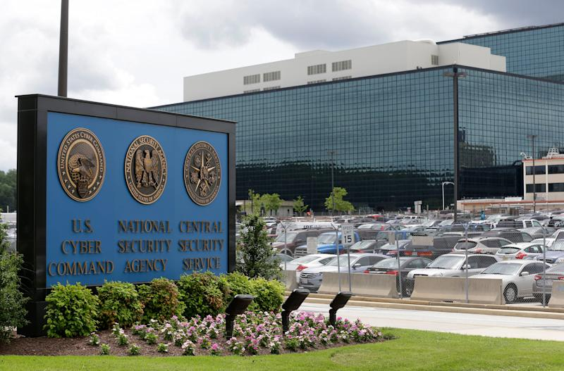 National Security Agency office in Fort Meade, Maryland.