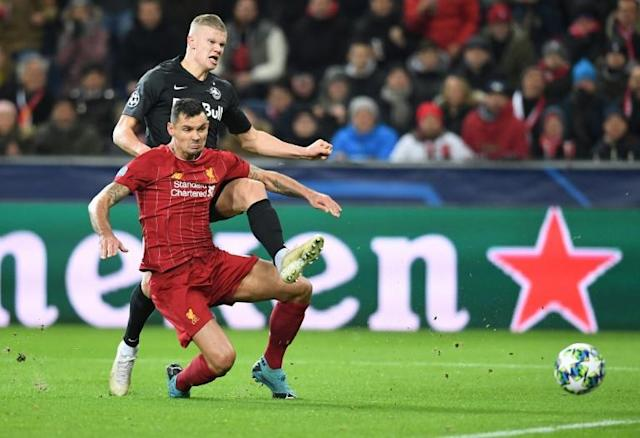 Liverpool defender Dejan Lovren has been ruled out of the Club World Cup (AFP Photo/JOE KLAMAR)