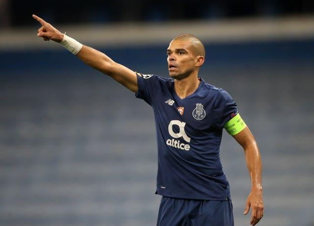 Pepe is happy for Porto to hype up their underdogs tag for Wednesday's clash with Chelsea