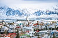 """Reykjavik is the northernmost country capital in the world—it doesn't get much more wintry than that. A key souvenir, and the final reward of a must-do shopping experience, is a traditional wool Icelandic sweater (head to the <a href=""""https://www.cntraveler.com/stories/2014-10-02/reykjavik-iceland-where-to-find-the-best-shopping-and-dining?mbid=synd_yahoo_rss"""" rel=""""nofollow noopener"""" target=""""_blank"""" data-ylk=""""slk:Kolaportid Flea Market"""" class=""""link rapid-noclick-resp"""">Kolaportid Flea Market</a> to snag one of your own). Other cold weather activities on offer include whale watching, bathing in geothermal pools (or traveling to the Instagrammable Blue Lagoon, a 40-minute drive away), and strolling by colorful houses and viking sculptures, such as the notorious resemblance of Leif Erikson."""