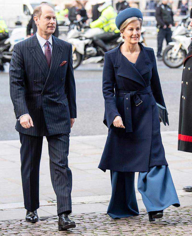 Sophie, Countess of Wessex and Prince Edward | Mark Cuthbert/UK Press via Getty
